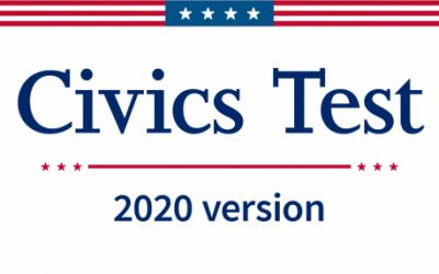 New Citizenship Civics Test